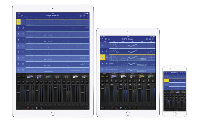 KORG Gadget for iOS 画像1