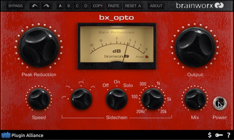 Plugin Alliance「Brainworx bx_opto」