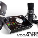 M-Track 2×2 Vocal Studio Pro - 完全ボーカル制作セット