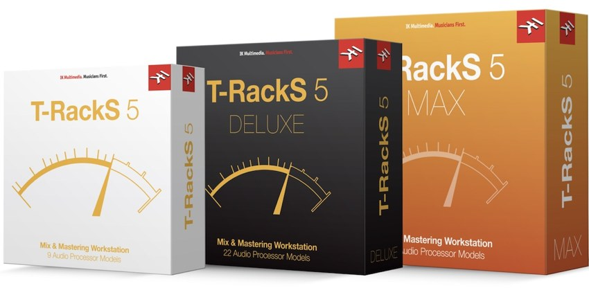 IK Multimedia「T-RackS 5」パッケージ