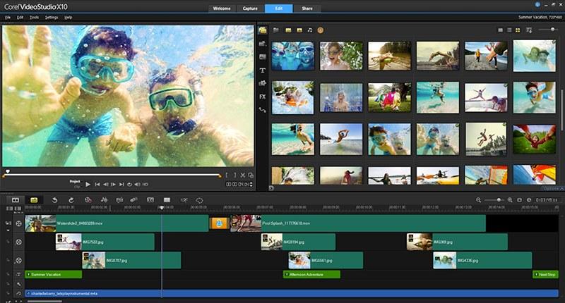 VideoStudio X10 メイン画像