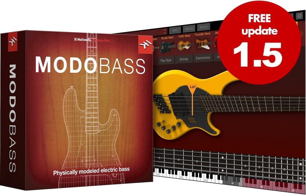 MODO BASS 1.5 アップデート