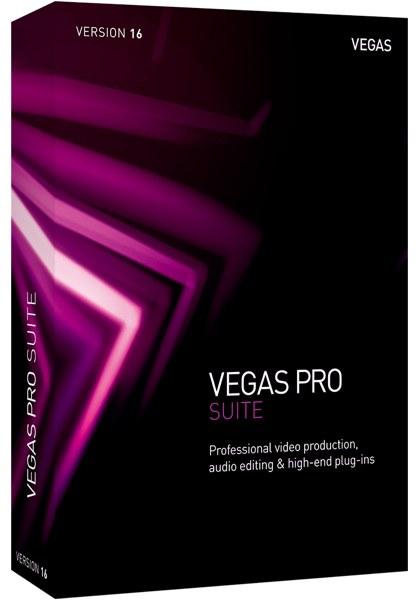 VEGAS Pro 16 Suite 画像