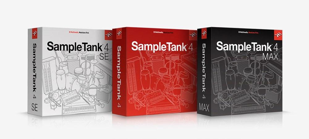 SampleTank 4 パッケージ