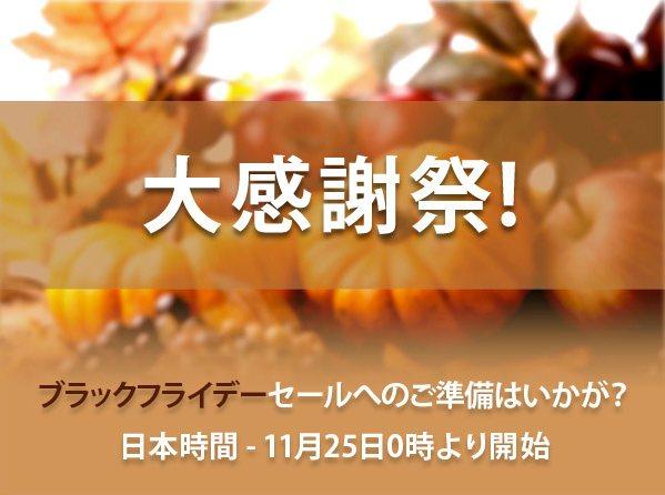 ブラックフライデー日本