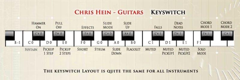 Chris Hein Guitars キースイッチ