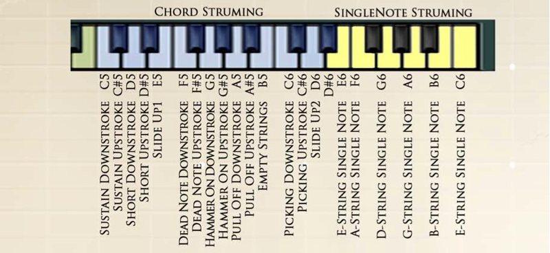 Chris Hein Guitars ストラミング