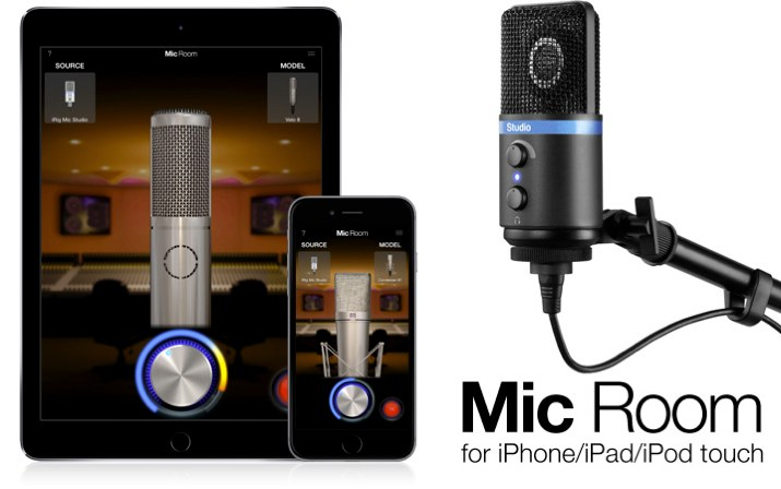 Mic Room for iPhone/iPad/iPod touch