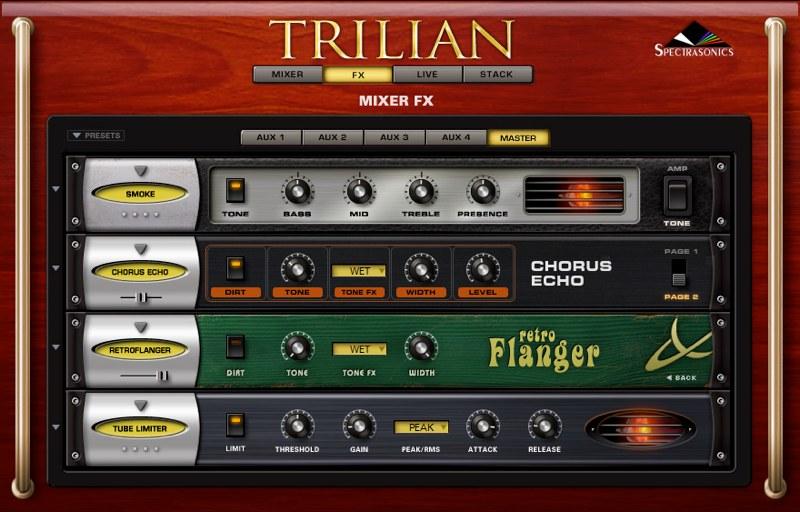 Trilian エフェクター