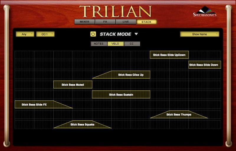Trilian 奏法
