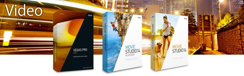 ソースネクスト「Vegas Pro/Movie Studio」