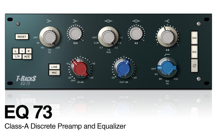 T-RackS 5「EQ-73」
