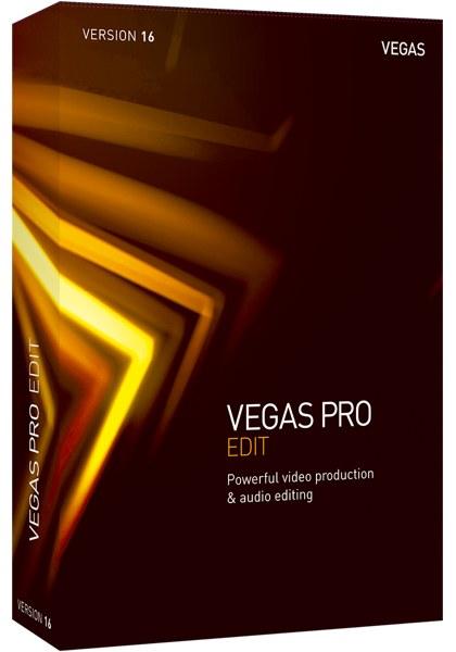 VEGAS Pro 16 Edit 画像