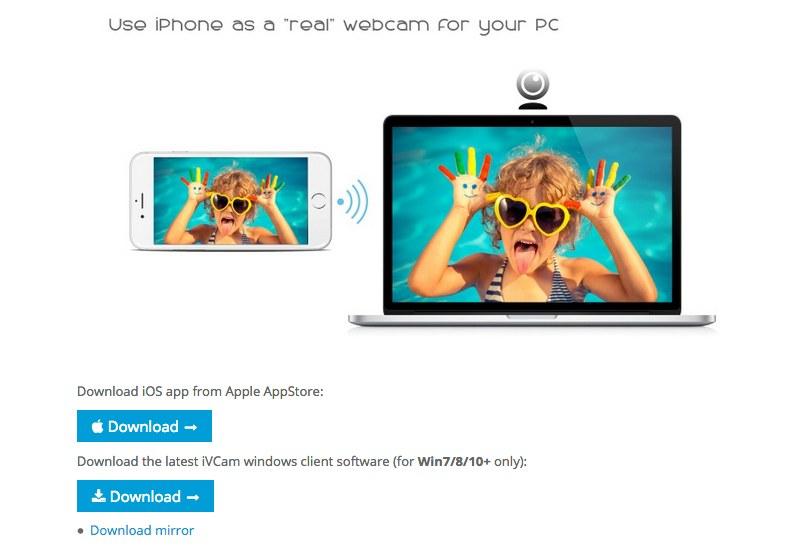 iVCam 公式サイト