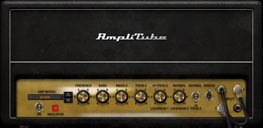 IK Multimedia AmpliTube「JH Gold」