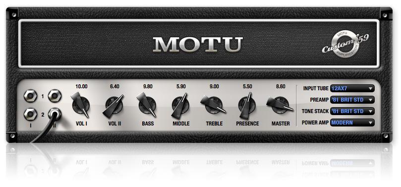 MOTU「Custom '59」