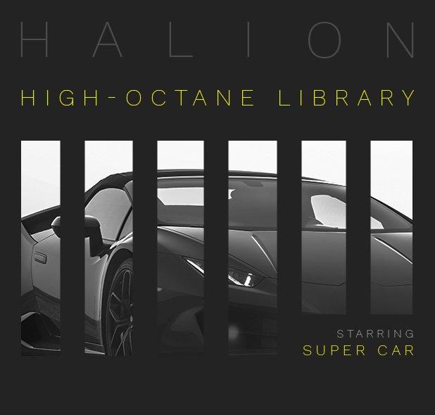 HALion シリーズ用ライブラリー「Super Car」