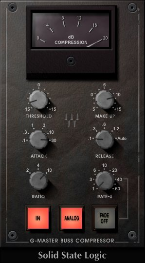 WAVES「SSL G-Master buss Compressor」