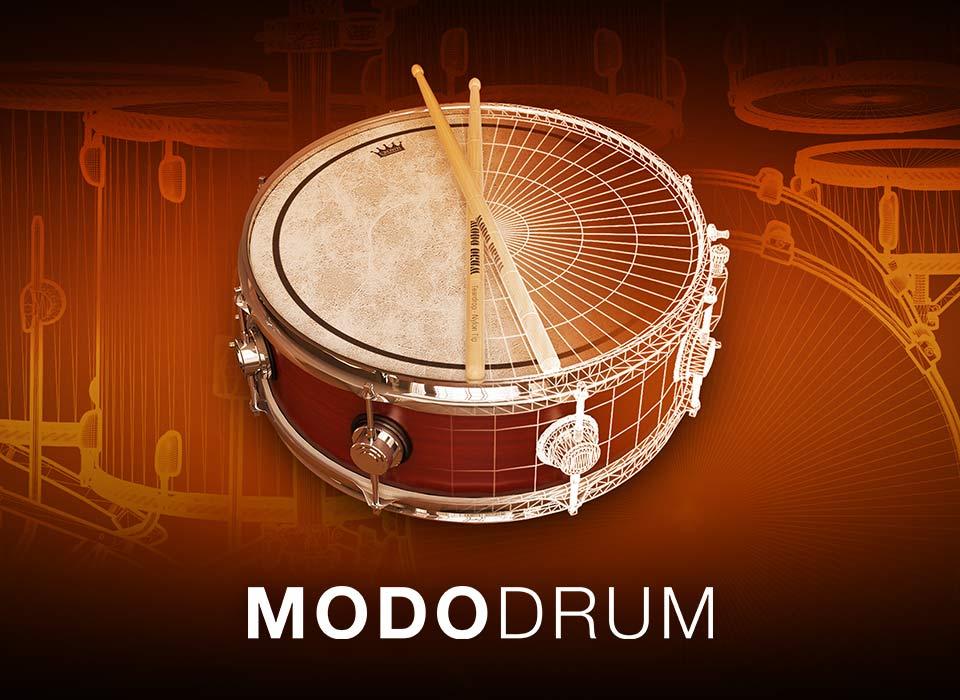 IK Multimedia ドラム音源「MODO DRUM」