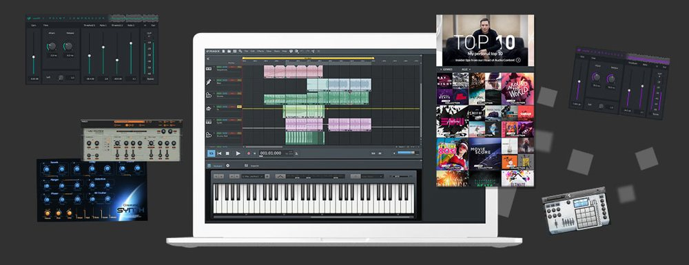 Music Maker 2020 Premium Edition 付属品